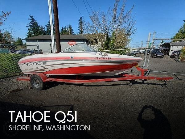 Used Tahoe Boats For Sale in Washington by owner   2008 Tahoe Q5i