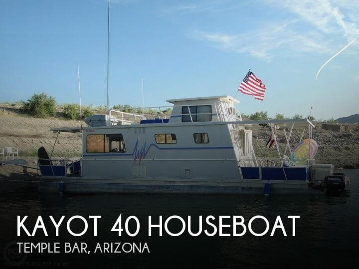 1981 HARRIS 40 HOUSEBOAT for sale