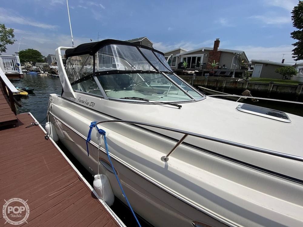 2001 Rinker boat for sale, model of the boat is 270 Fiesta Vee & Image # 14 of 40