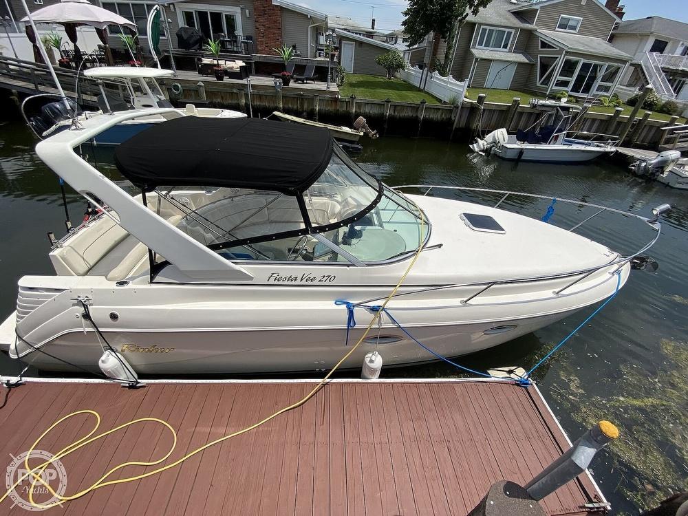 2001 Rinker boat for sale, model of the boat is 270 Fiesta Vee & Image # 11 of 40