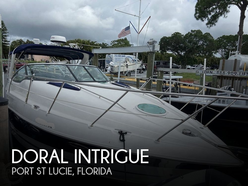 2009 Doral International boat for sale, model of the boat is INTRIGUE & Image # 1 of 40