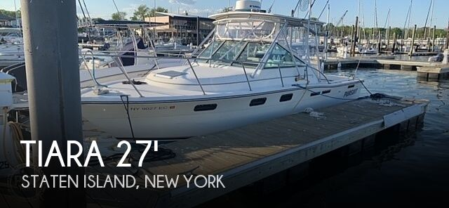 Used Tiara Boats For Sale by owner   1990 27 foot Tiara Pursuit
