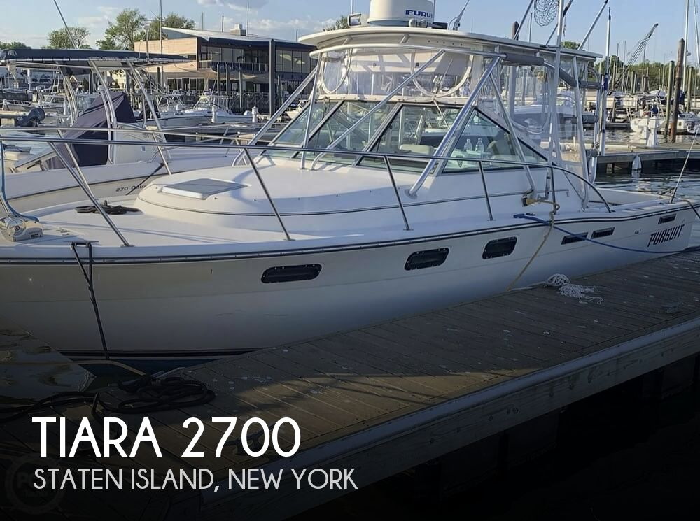 1990 Tiara Yachts boat for sale, model of the boat is 2700 Pursuit Open & Image # 1 of 25