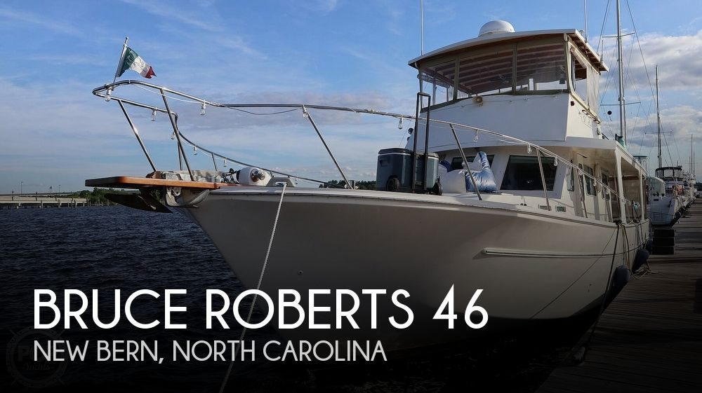 Used Boats For Sale in North Carolina by owner | 1997 Bruce Roberts 46 Long Range