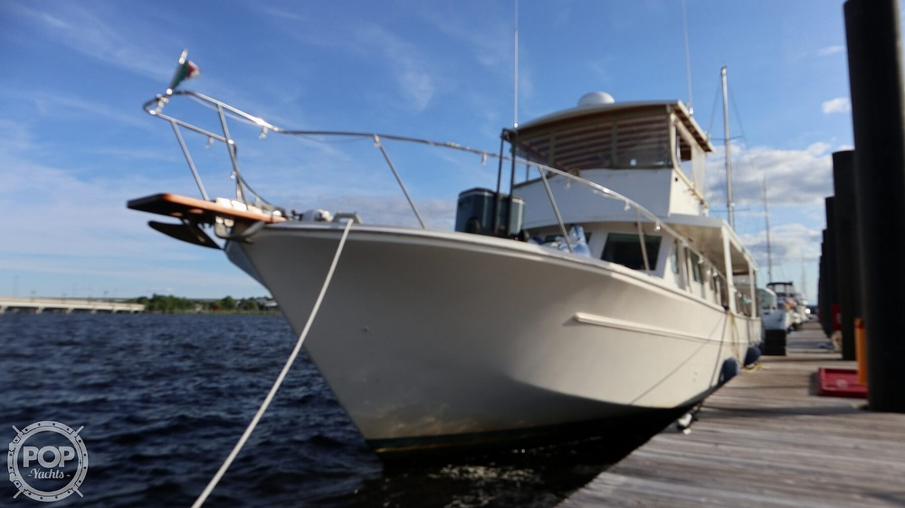 1997 Bruce Roberts boat for sale, model of the boat is 46 Long Range & Image # 7 of 40