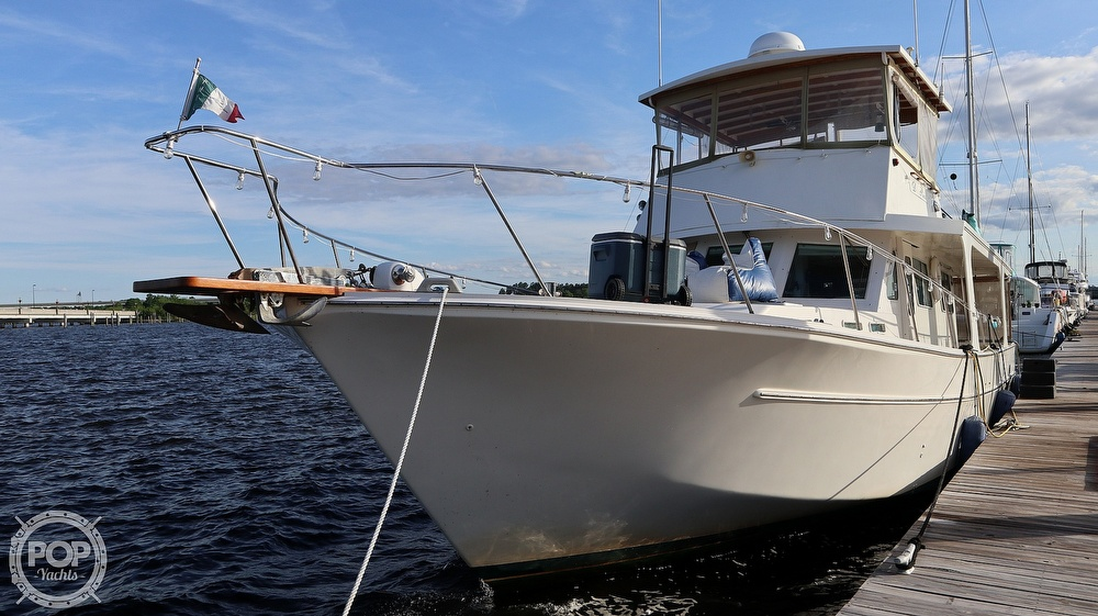 1997 Bruce Roberts boat for sale, model of the boat is 46 Long Range & Image # 8 of 40