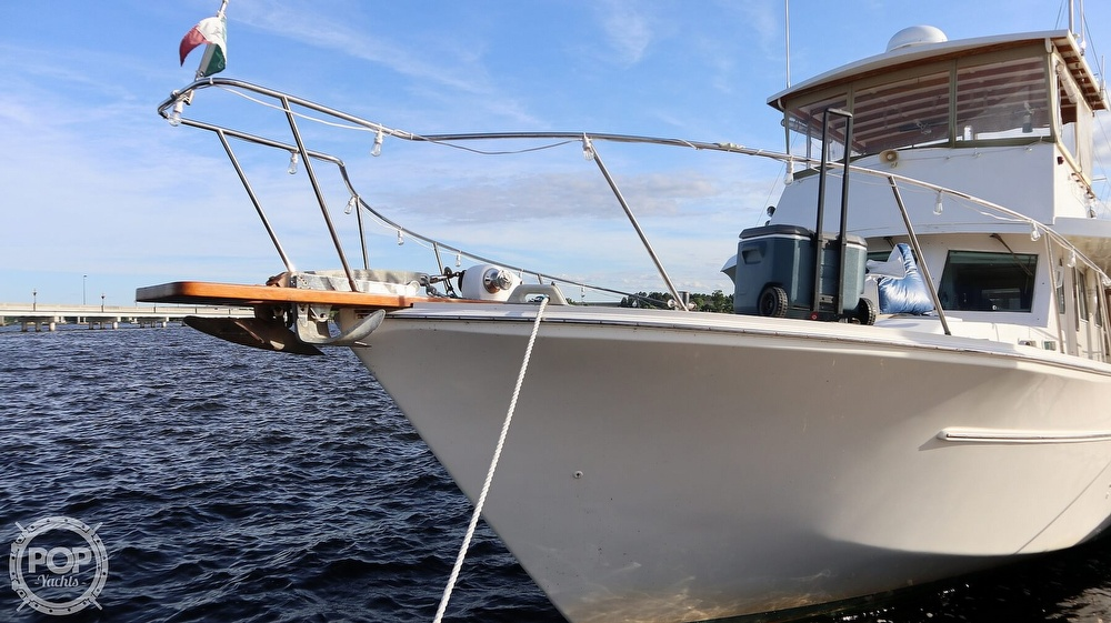 1997 Bruce Roberts boat for sale, model of the boat is 46 Long Range & Image # 9 of 40