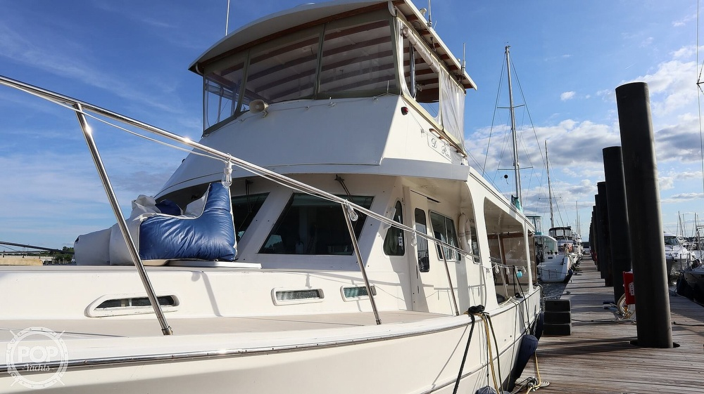 1997 Bruce Roberts boat for sale, model of the boat is 46 Long Range & Image # 12 of 40