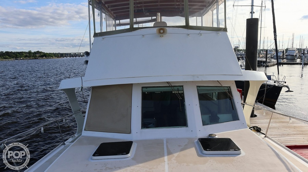 1997 Bruce Roberts boat for sale, model of the boat is 46 Long Range & Image # 39 of 40