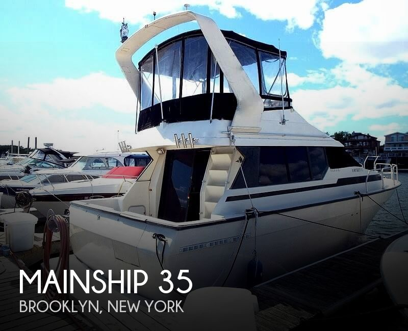 1989 Mainship boat for sale, model of the boat is 35 & Image # 1 of 40