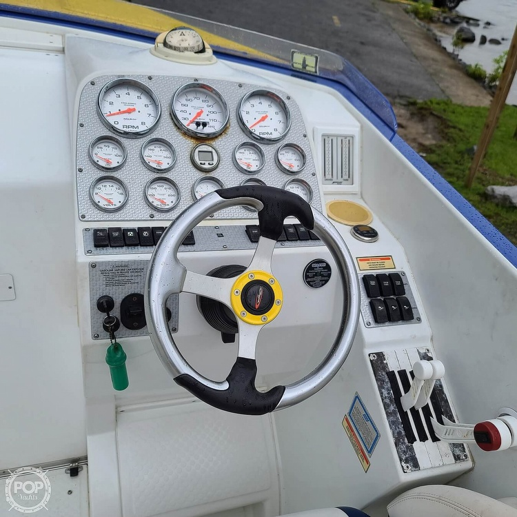 2002 Baja boat for sale, model of the boat is 33 Outlaw & Image # 17 of 40