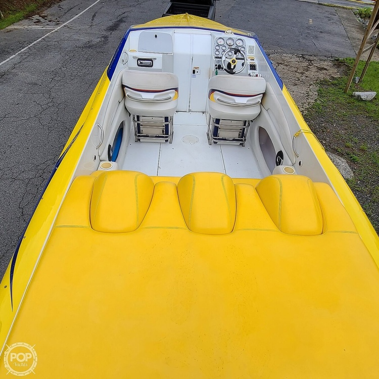 2002 Baja boat for sale, model of the boat is 33 Outlaw & Image # 4 of 40
