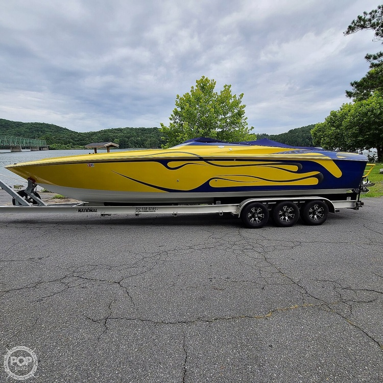 2002 Baja boat for sale, model of the boat is 33 Outlaw & Image # 20 of 40