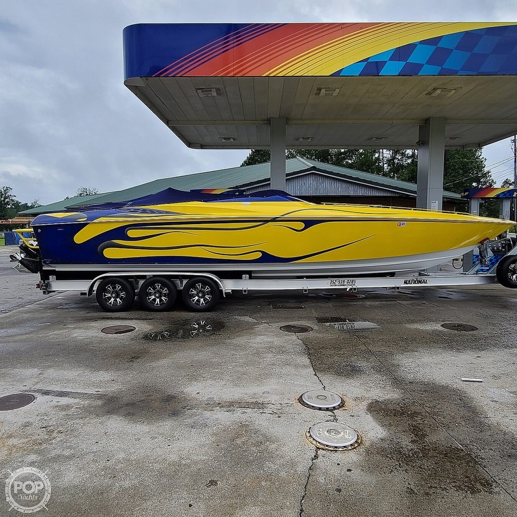 2002 Baja boat for sale, model of the boat is 33 Outlaw & Image # 22 of 40