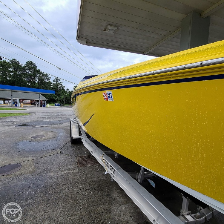 2002 Baja boat for sale, model of the boat is 33 Outlaw & Image # 29 of 40