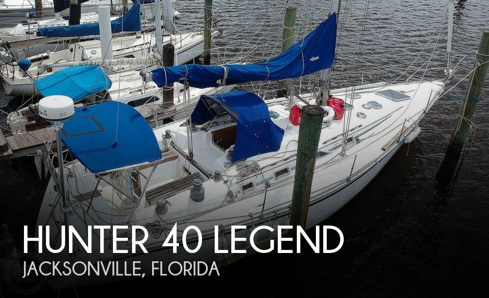 1985 Hunter boat for sale, model of the boat is 40 Legend & Image # 1 of 40