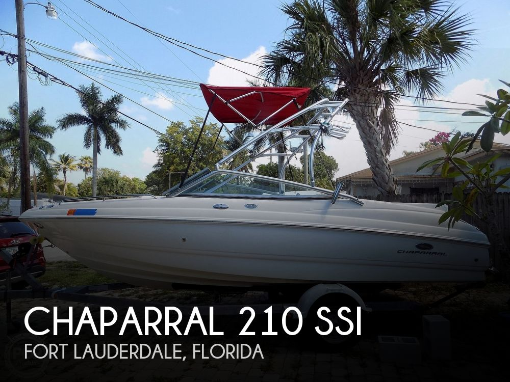 2006 Chaparral boat for sale, model of the boat is 210 SSI & Image # 1 of 40