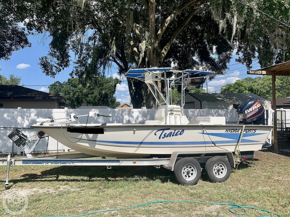 1998 Hydra-Sports boat for sale, model of the boat is Hydra-Skiff & Image # 4 of 40