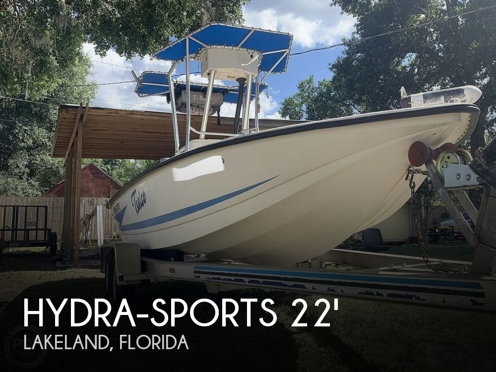 1998 Hydra-Sports boat for sale, model of the boat is Hydra-Skiff & Image # 1 of 40