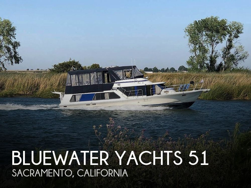 1985 Blue Water boat for sale, model of the boat is 51 Coastal Cruiser & Image # 1 of 40