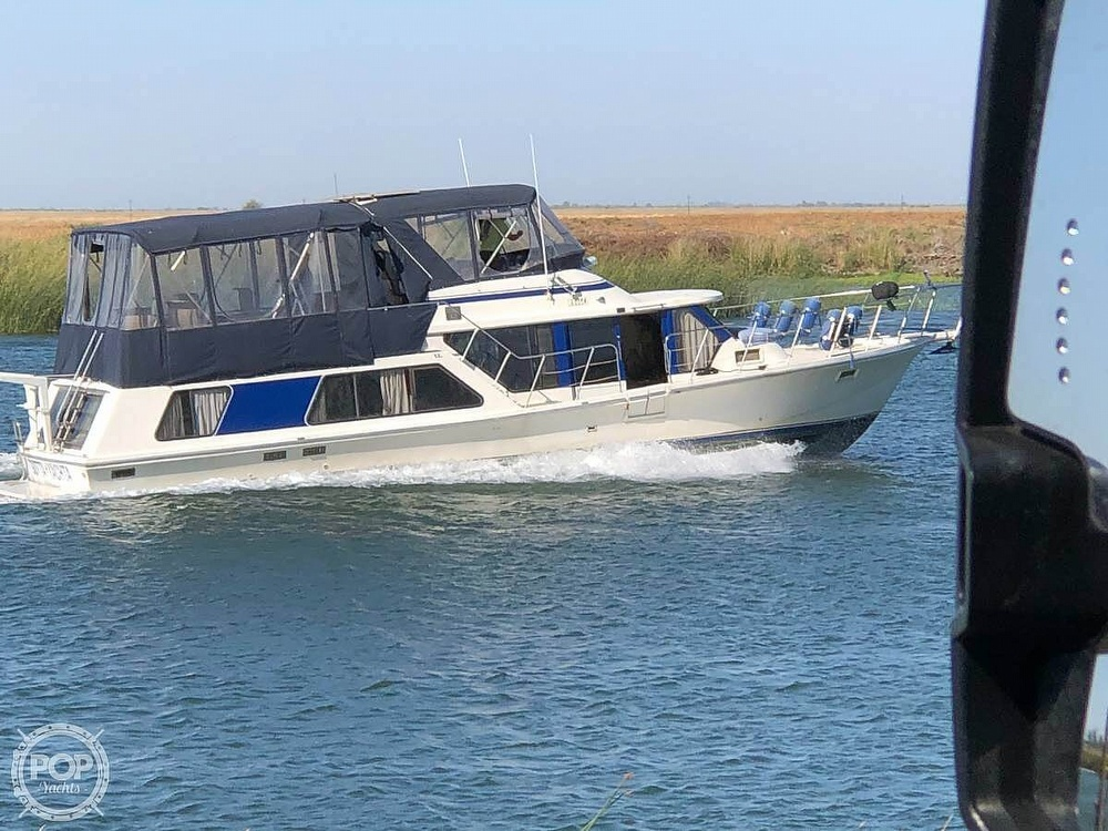 1985 Blue Water boat for sale, model of the boat is 51 Coastal Cruiser & Image # 2 of 40