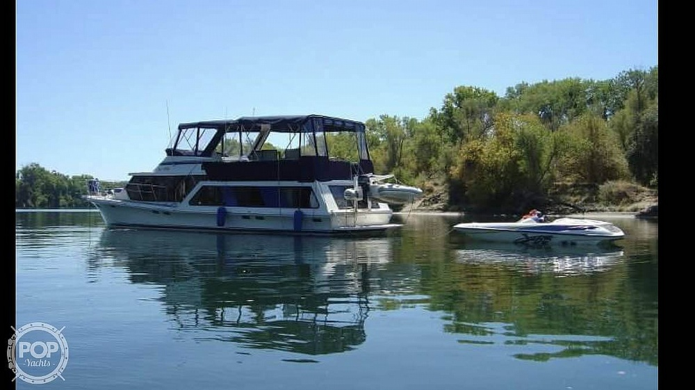 1985 Blue Water boat for sale, model of the boat is 51 Coastal Cruiser & Image # 3 of 40