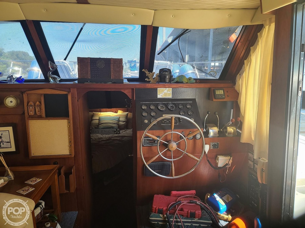 1985 Blue Water boat for sale, model of the boat is 51 Coastal Cruiser & Image # 4 of 40