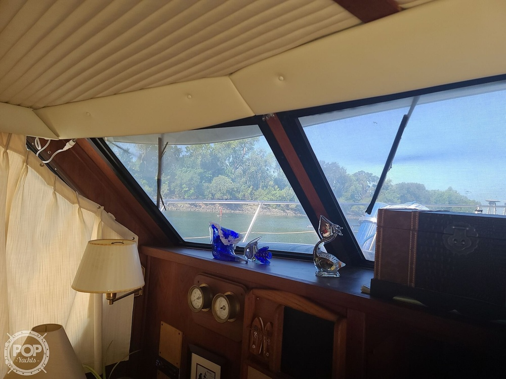 1985 Blue Water boat for sale, model of the boat is 51 Coastal Cruiser & Image # 10 of 40