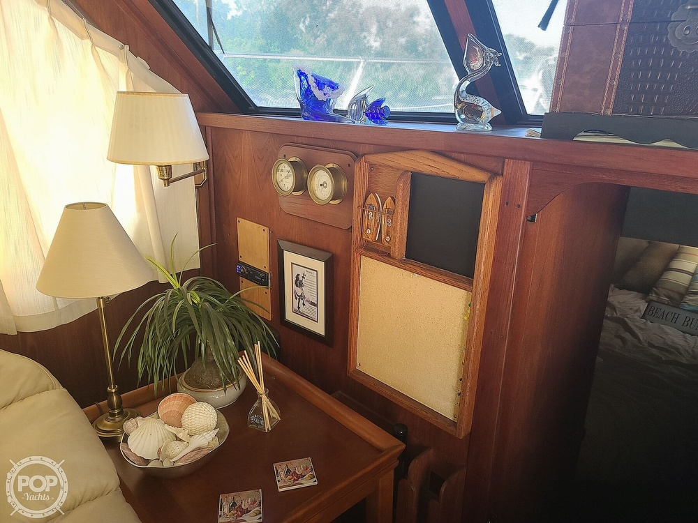 1985 Blue Water boat for sale, model of the boat is 51 Coastal Cruiser & Image # 11 of 40