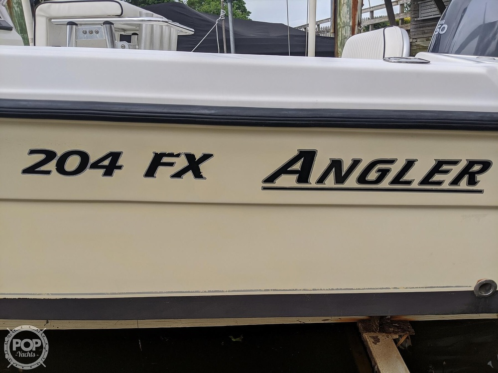 2012 American Angler boat for sale, model of the boat is 204 FX & Image # 28 of 40