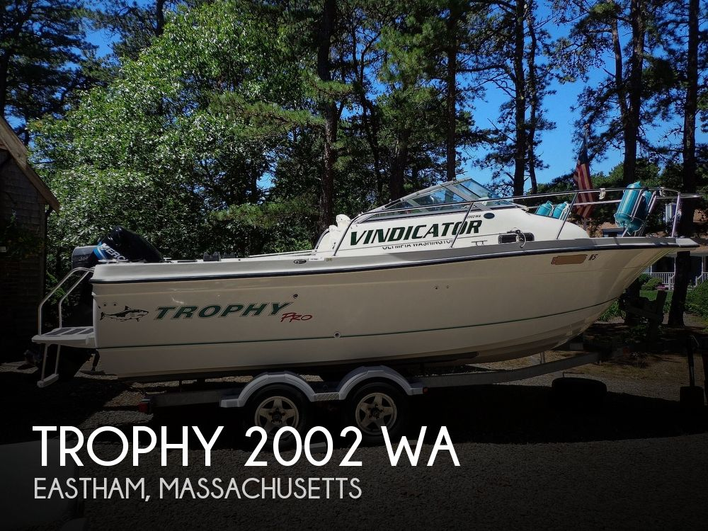 2005 Trophy boat for sale, model of the boat is 2002 WA & Image # 1 of 40