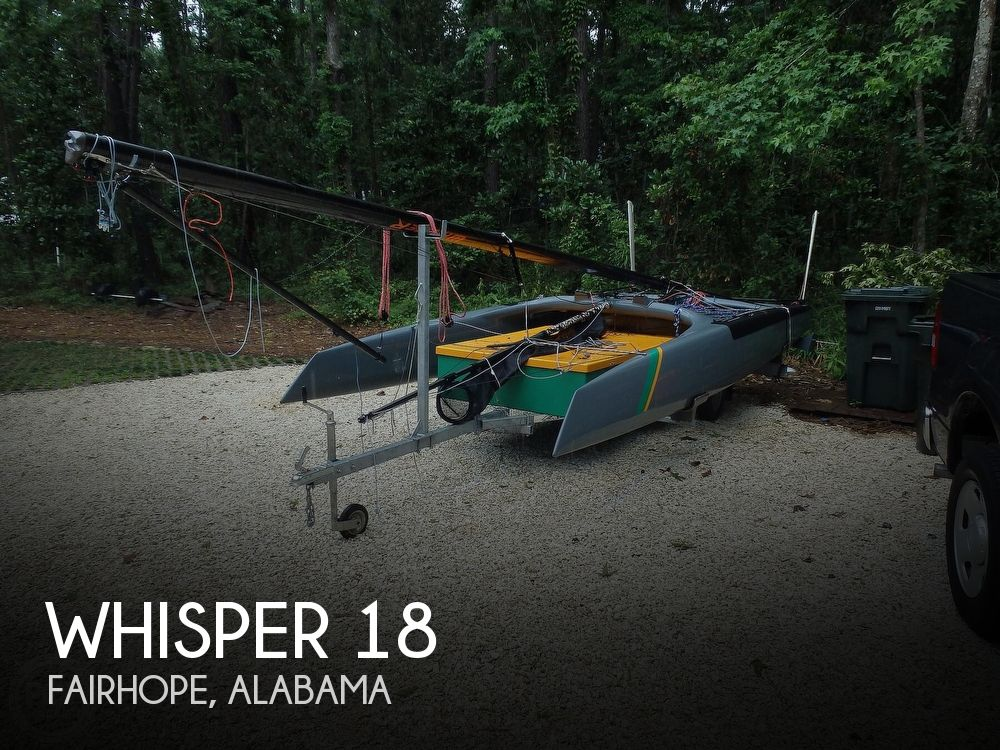 2017 Whisper boat for sale, model of the boat is 18 & Image # 1 of 40