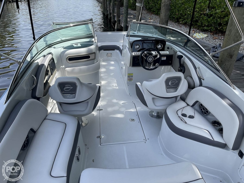 2021 Crownline boat for sale, model of the boat is E 235 XS & Image # 36 of 40