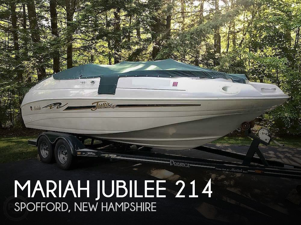 1999 Mariah boat for sale, model of the boat is Jubilee 214 & Image # 1 of 19