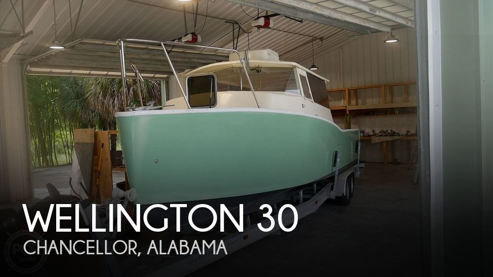 2014 Wellington boat for sale, model of the boat is 30 & Image # 1 of 40