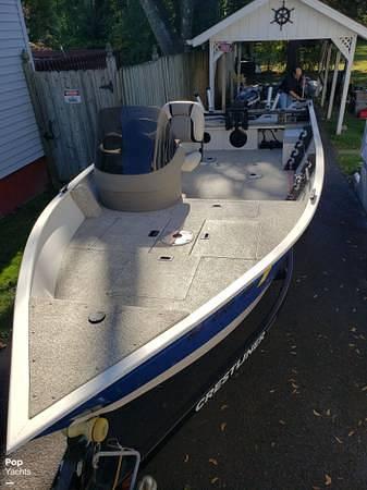 2012 Crestliner boat for sale, model of the boat is 18 Kodiak & Image # 6 of 40