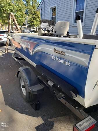 2012 Crestliner boat for sale, model of the boat is 18 Kodiak & Image # 8 of 40