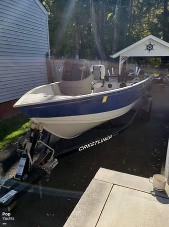 2012 Crestliner boat for sale, model of the boat is 18 Kodiak & Image # 9 of 40