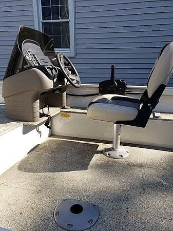 2012 Crestliner boat for sale, model of the boat is 18 Kodiak & Image # 10 of 40