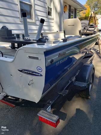 2012 Crestliner boat for sale, model of the boat is 18 Kodiak & Image # 13 of 40