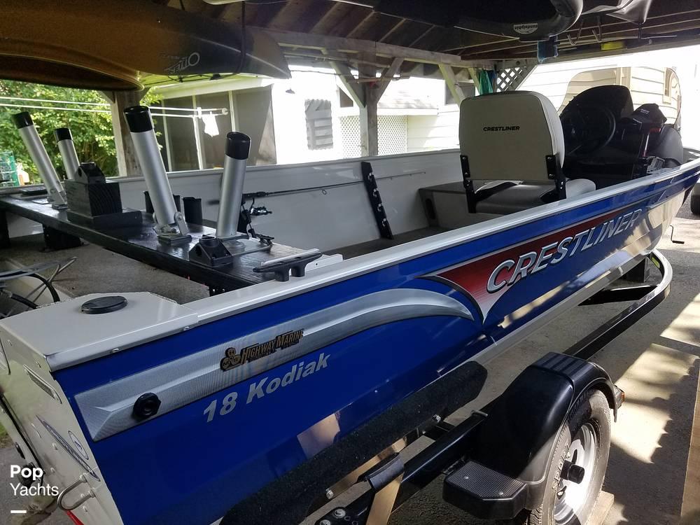 2012 Crestliner boat for sale, model of the boat is 18 Kodiak & Image # 2 of 40