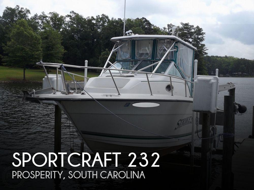 1998 SPORTCRAFT 232 FISHMASTER for sale