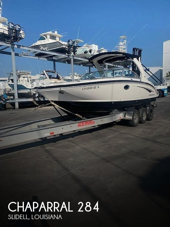 Used Deck Boats For Sale by owner | 2014 Chaparral Sunesta 284