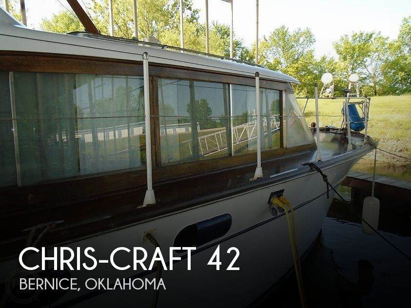 Used Power boats For Sale in Fayetteville, Arkansas by owner | 1959 Chris-Craft 42