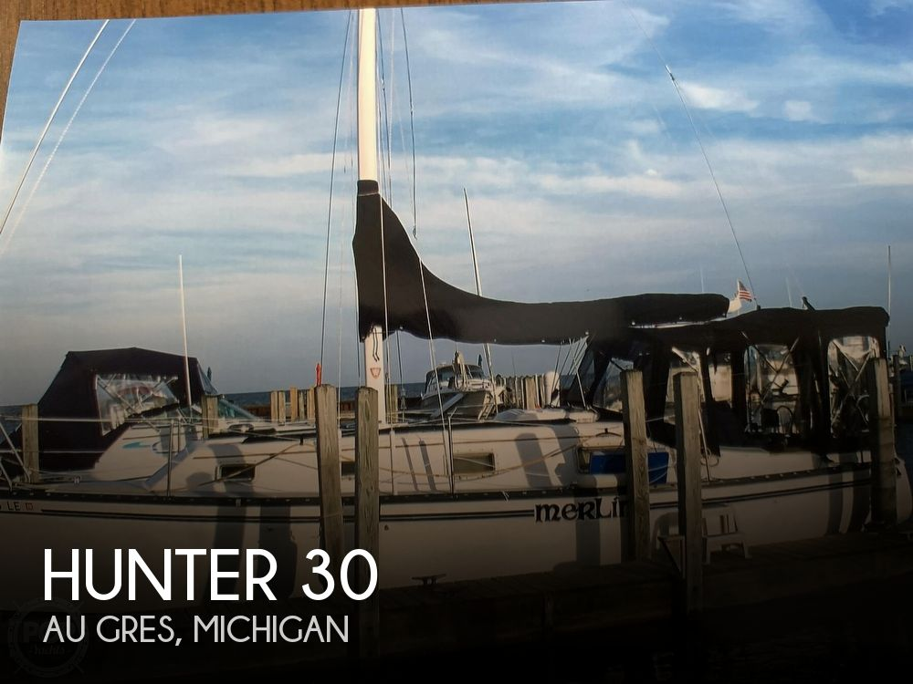 Used Hunter Boats For Sale in Michigan by owner   1980 Hunter 30