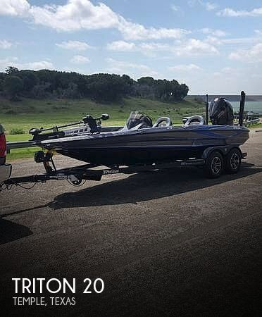 Used Ski Boats For Sale in Killeen, Texas by owner | 2019 Triton 20TRX Patriot Elite