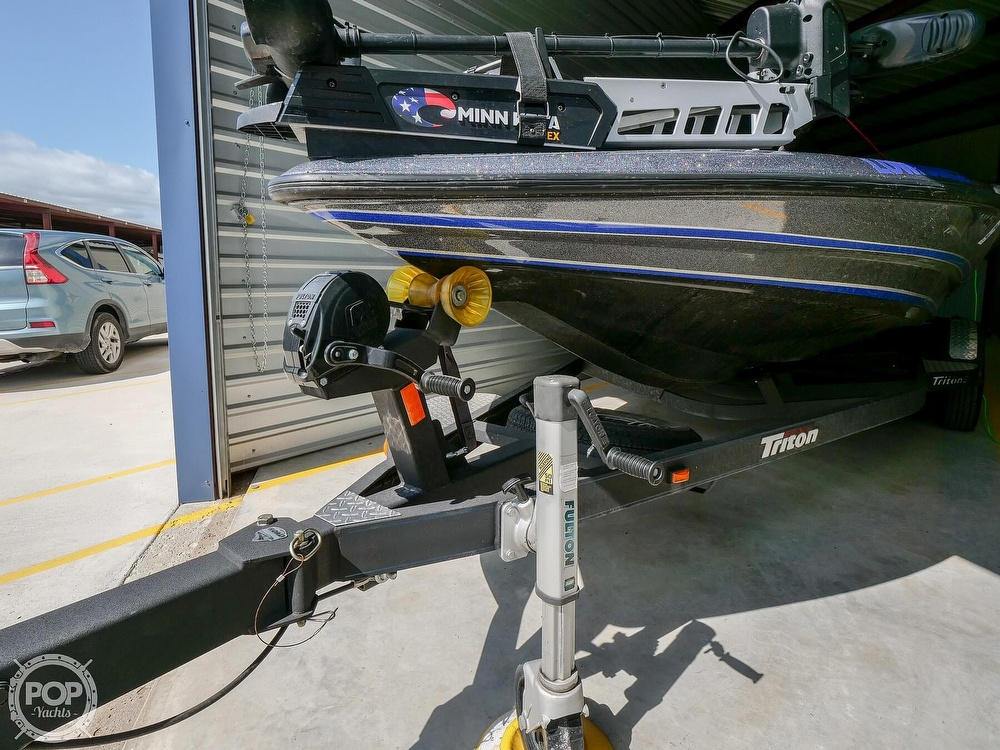 2019 Triton boat for sale, model of the boat is 20TRX Patriot Elite & Image # 16 of 40