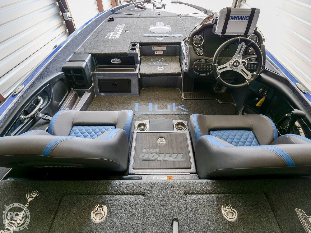 2019 Triton boat for sale, model of the boat is 20TRX Patriot Elite & Image # 32 of 40