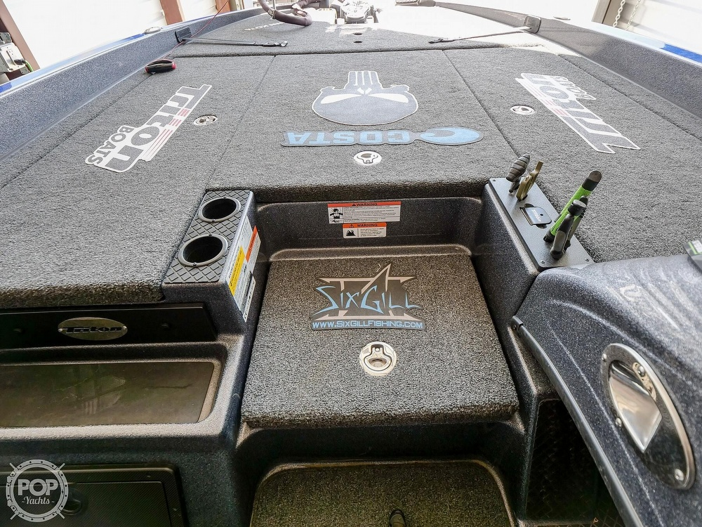 2019 Triton boat for sale, model of the boat is 20TRX Patriot Elite & Image # 36 of 40