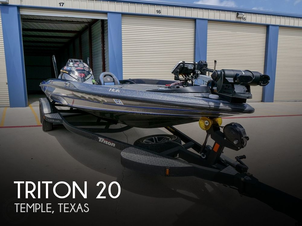 2019 Triton boat for sale, model of the boat is 20TRX Patriot Elite & Image # 1 of 40